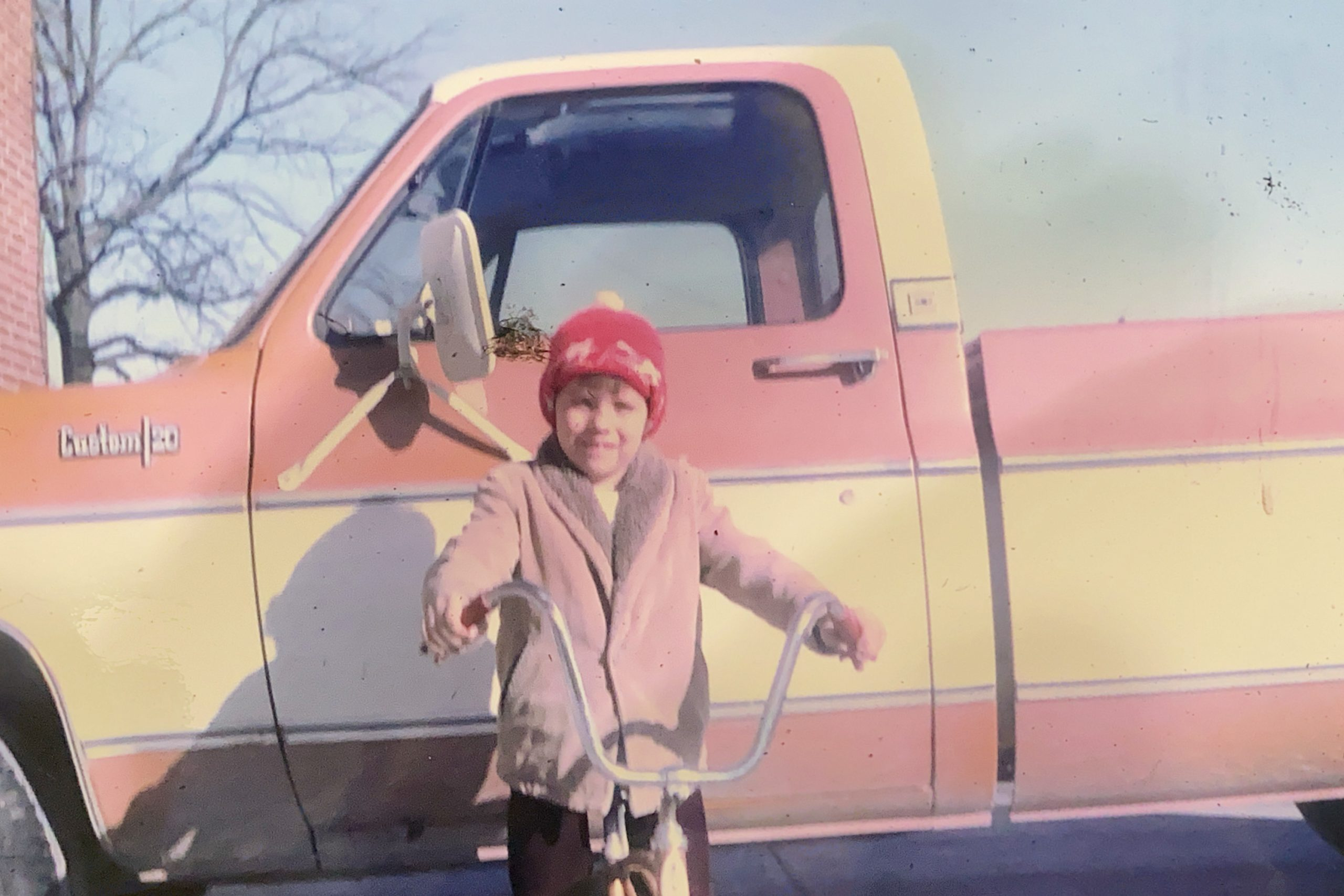 Brian Wagner kid and his bike