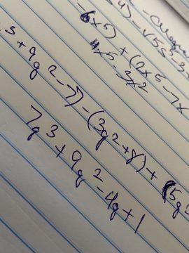 algebra at OSSB
